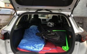 CX-3 車中泊