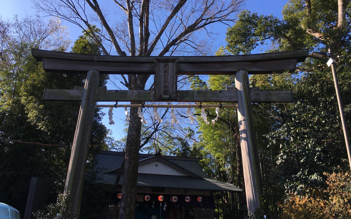 阿蘇神社大鳥居